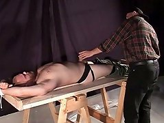 Bear slave gets to bend over his master to fuck his wide ass with his thick prick