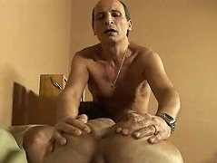Young boy can\'t wait to be penetrated by old dick