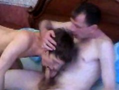 Horny mature guy gets a twink to play with and definitely enjoys the time. Nasty playtime with a twink