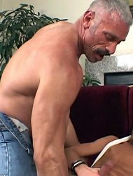 Cute twink with dyed hair gets his ass destroyed. Extreme anal workout for a sexy boy