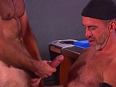 When he took that hairy dick out of his pants, he desperately need to suck on it