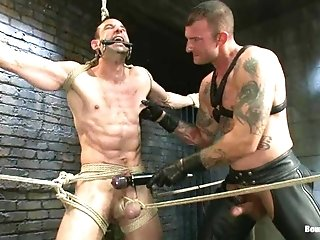 Jason Miller Gets His Holes Brutally Fucked By Ricky Sinz