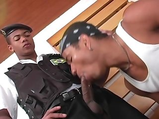 Nasty Black Boy Gets His Gay Ass Fucked From Behind And Likes It